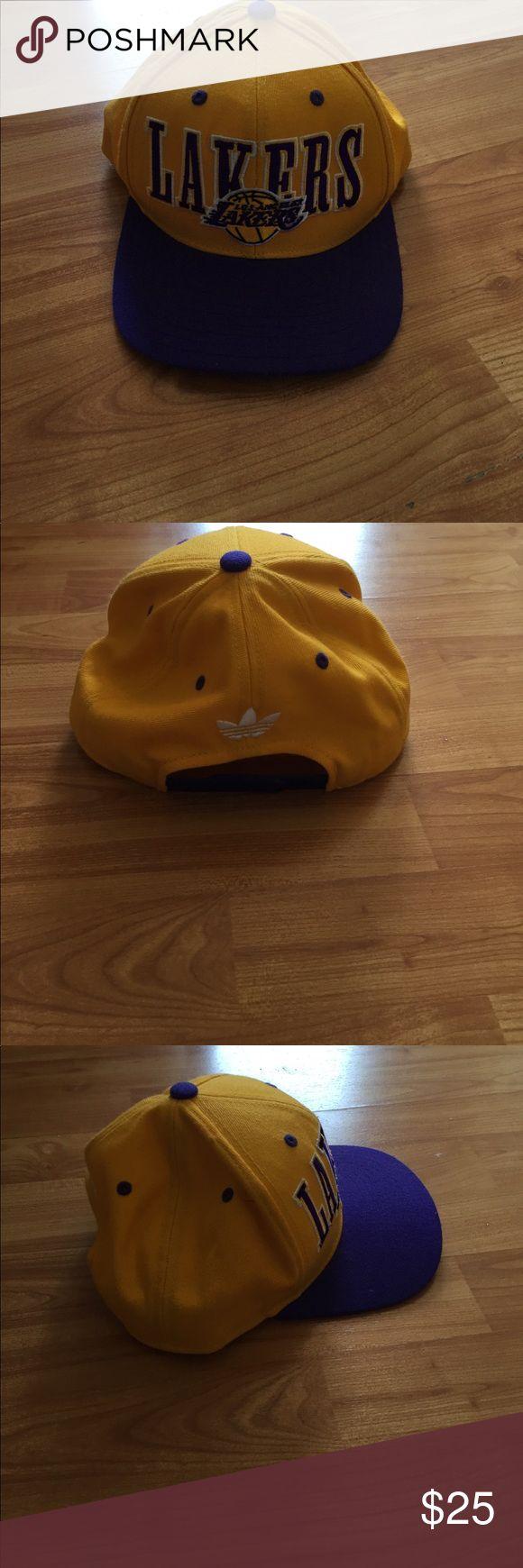 Lakers Cap LAKERS. CAP adidas Accessories Hats