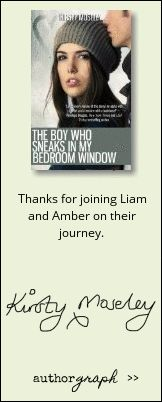 """Authorgraph from Kirsty Moseley for """"The Boy Who Sneaks in my Bedroom..."""""""