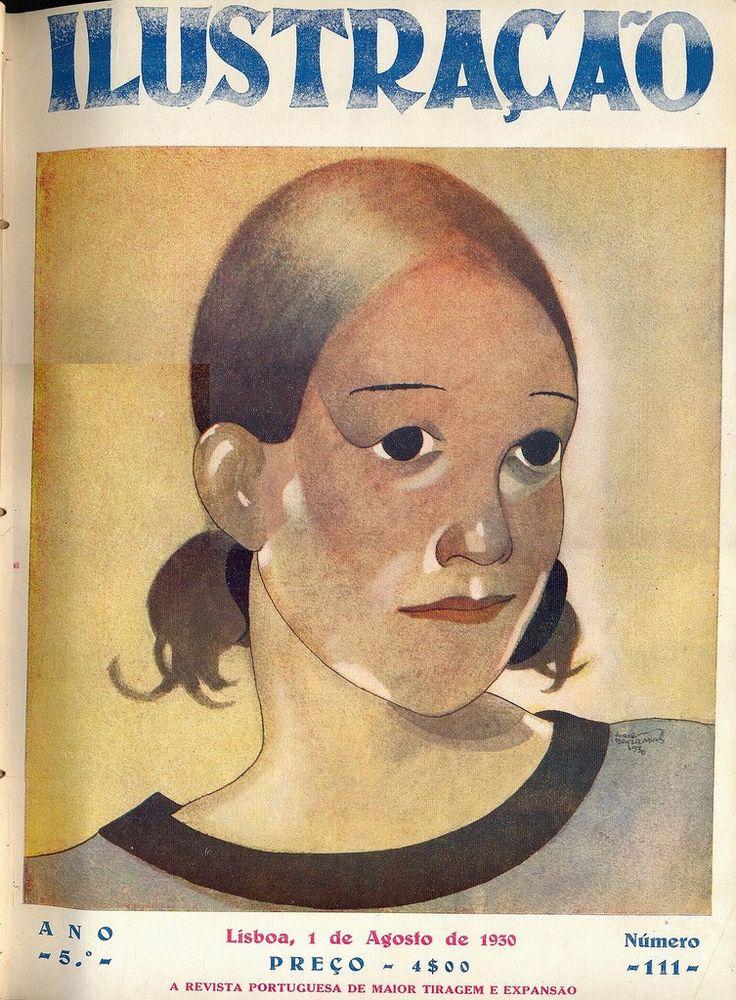 Ilustraçao magazine cover, 1930 // by Jorge Barradas