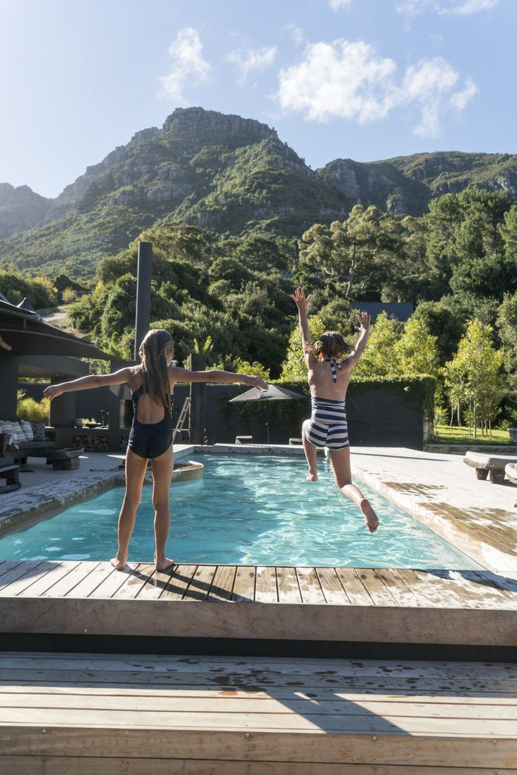 A sophisticated yet relaxed villa hideaway in Hout Bay, Cape Town #maisonnoir #Houtbay #perfecthideaways #privatevilla #exclusiveuse