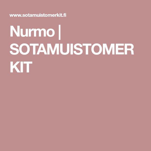 Nurmo | SOTAMUISTOMERKIT