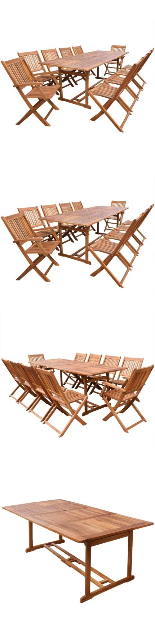 Wood dining with wrought iron quot clasp quot base very popular dining -  Wrought Iron Clasp Base Very Popular Dining Trend This Year See More Dining Sets 107578 Outdoor Patio Acacia Wood Dining Set 11 Piece Table Chair
