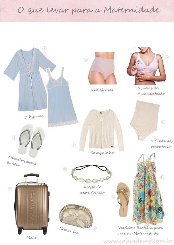 Arrumando a Mala da Mamãe para a Maternidade | Coisas da MY