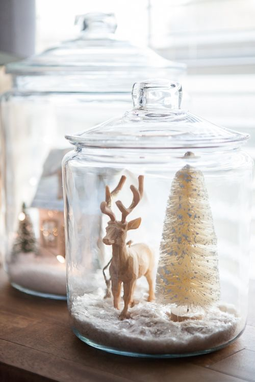 Reindeer in a jar! What Xmas dreams are made of.