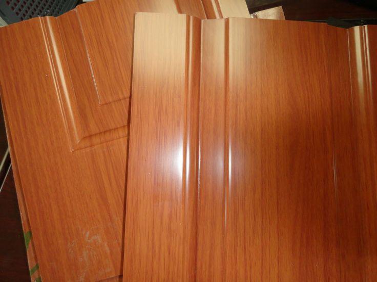 Pvc DoorMelamineWood Grain DoorE1 Reasonable Price High Quanlity - Buy Pvc Bathroom DoorPvc Kitchen Cabinet DoorCabinet Door With Pvc Product on ... & 108 best pvc door frame images on Pinterest | Appliances Door ... Pezcame.Com