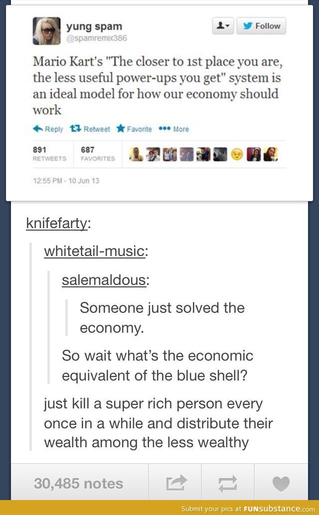 Mario Kart and the economy
