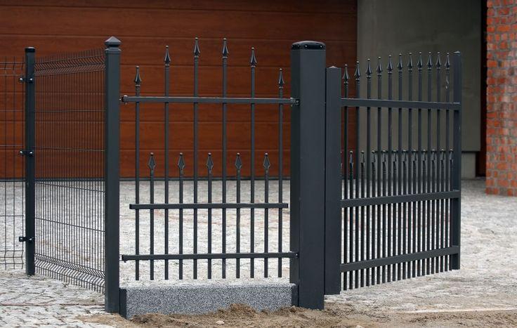 #Metallzaun #Zauntor #Modulares #Zaunelement #Gartenzaun #Schmuckzaun #Pforte #Gartentor