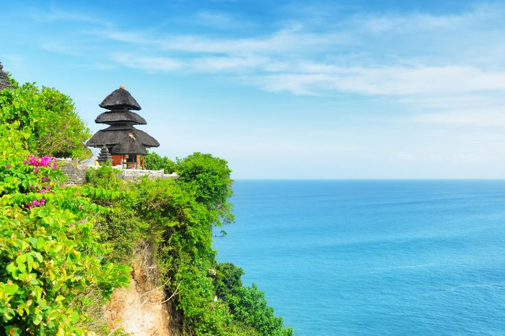 Uluwatu Temple, or Pura Luhur Uluwatu, one of six key temples believed to be Bali's spiritual pillars, is renowned for its magnificent location, perched on top of a steep cliff approximately 70 metres above sea level.