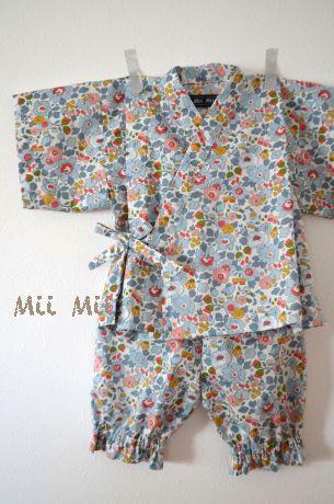 【新作】 Mii Mii リバティBetsy 甚平 80サイズ【楽天市場】