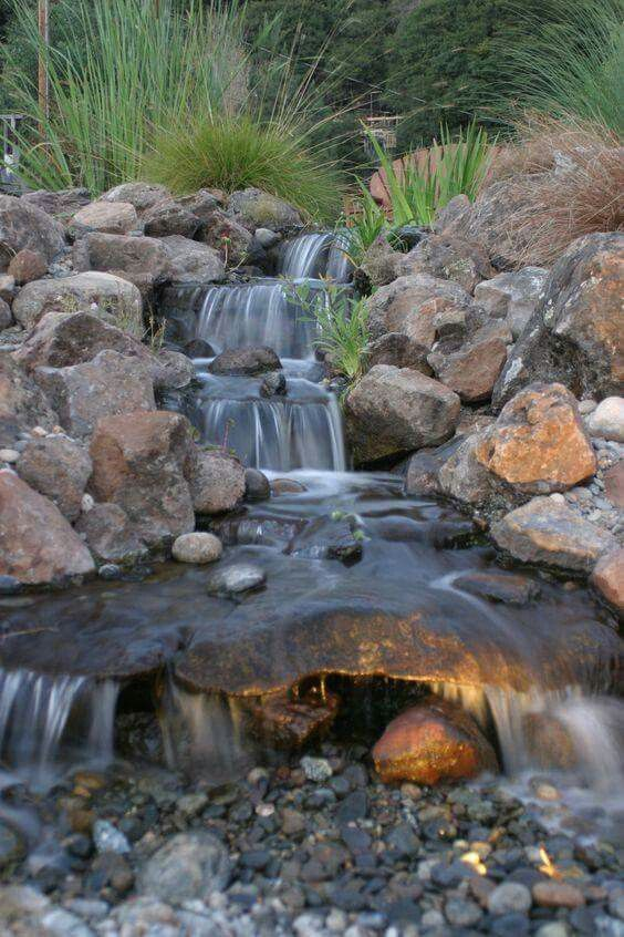 45 best dry pond  waterfall images on pinterest