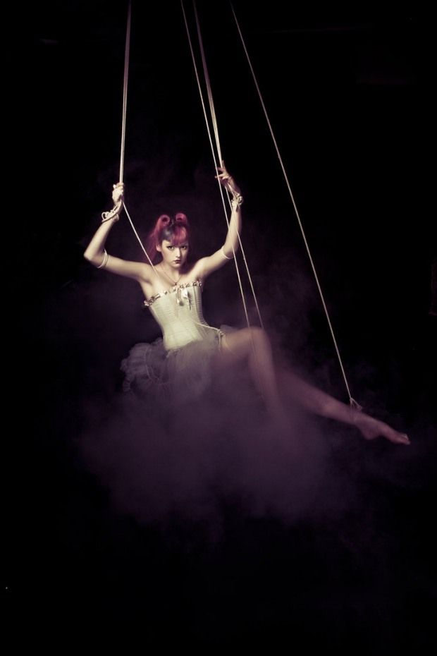 Photography by Izzy Faith; marionette straps