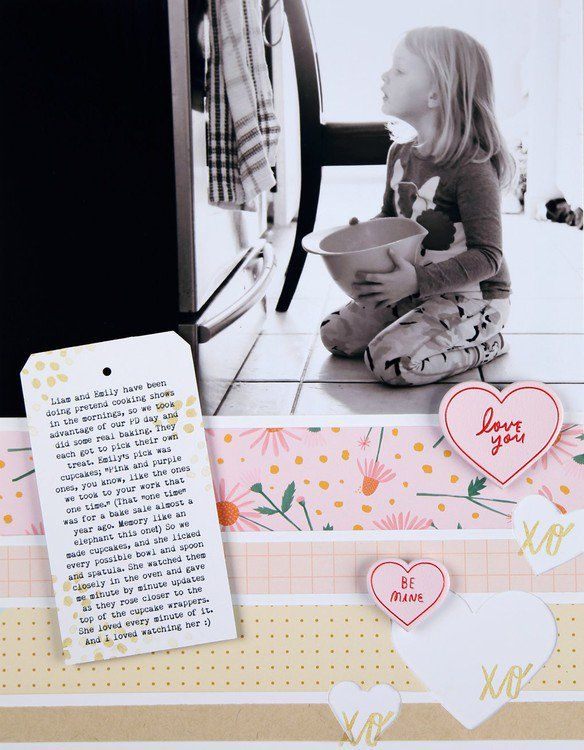 Candyland Scrapbook Kit - Love You by PamBaldwin