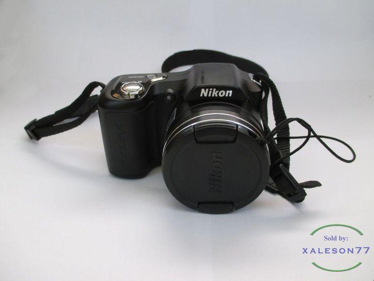 #Nikon #Coolpix L100 10MP Digital #Camera w/15x Zoom Nikon