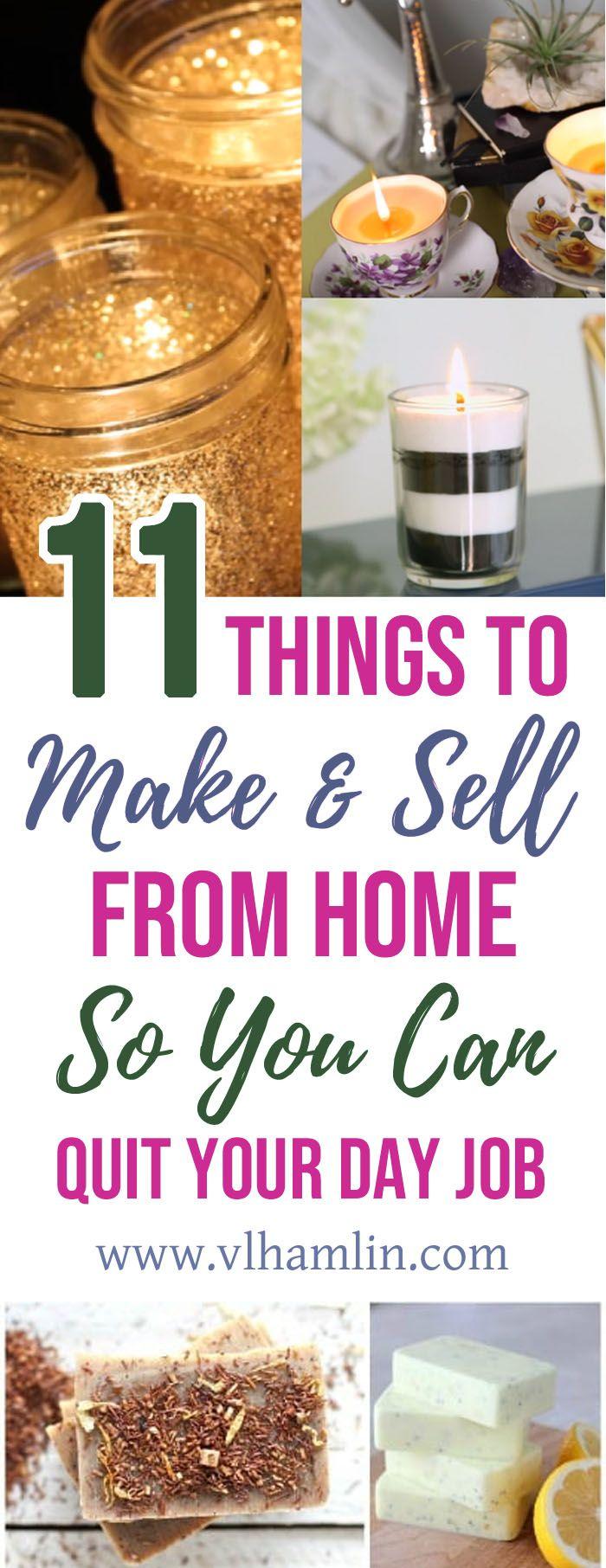 11 Dinge, die man von zu Hause aus machen und verkaufen kann   – The Best of Food • Life • Design