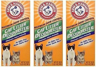 ARM and HAMMER® Cat Litter Deodorizer Powder (3 Pack)