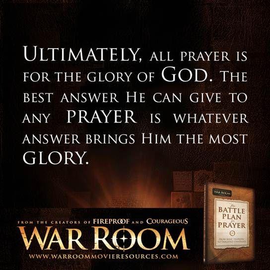 The Battle Plan for Prayer // War Room (2015) Kendrick Brothers movie / Prayer unites. / quotes / prayer / war room / pray /
