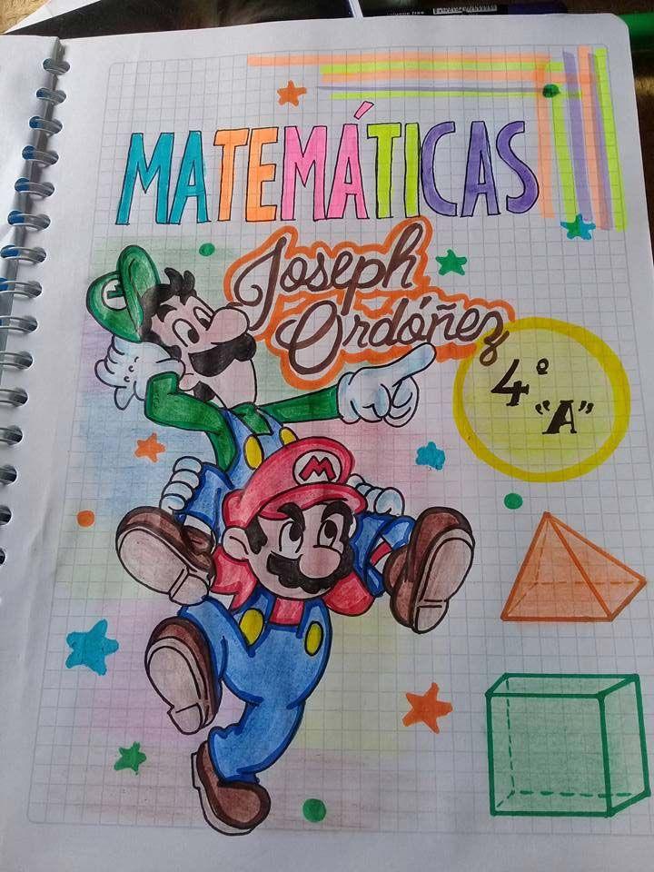 57 Caratulas Para Cuadernos De Matematicas Faciles De Dibujar Foros Ecuador 2019 Notebook Art Sketch Book Best Friend Drawings