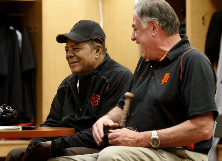 """Something was missing from spring training last year, the sound of Willie Mays' voice inside the clubhouse at Scottsdale Stadium.  Mays wasted no time flying to Arizona to take his familiar seat at the """"Hall of Fame"""" table inside the clubhouse, making what ordinarily is an annual visit.  Just before he was due to travel, he fell and injured a rib.  Henry Schulman is a San Francisco Chronicle staff writer."""