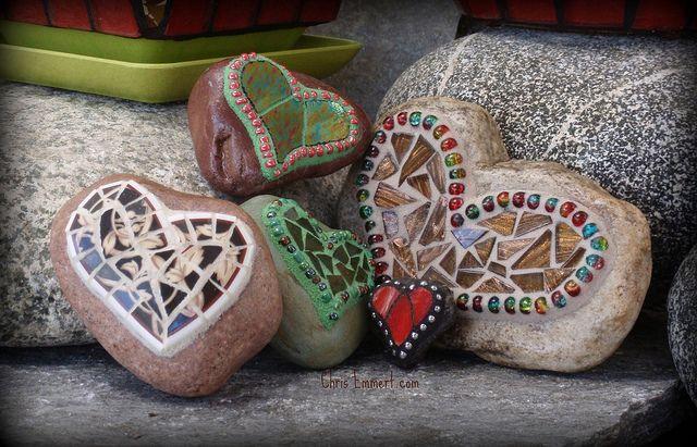 Spring Rock Hearts by Chris Emmert, via Flickr