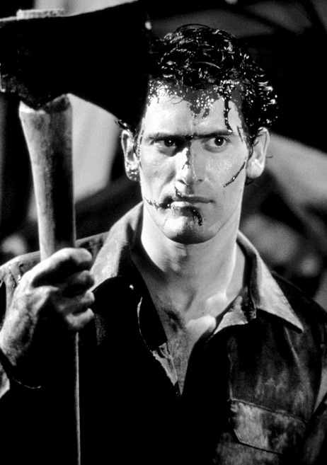 """The Evil Dead """" It's useless! Useless! In time it will come for him and then it will come for you!"""""""