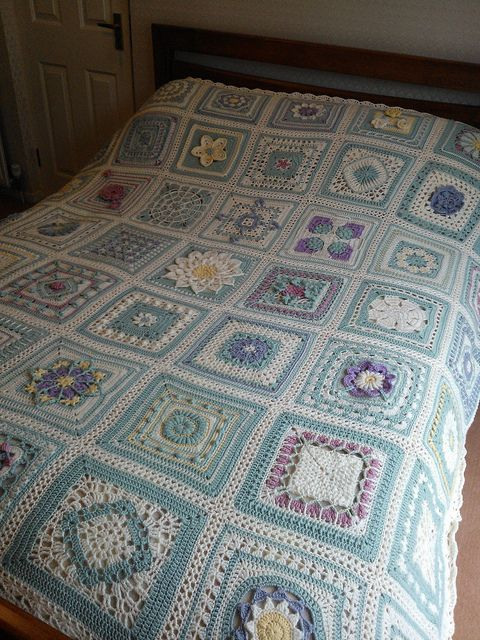 Ravelry: Lettice's English Country Garden Afghan ...
