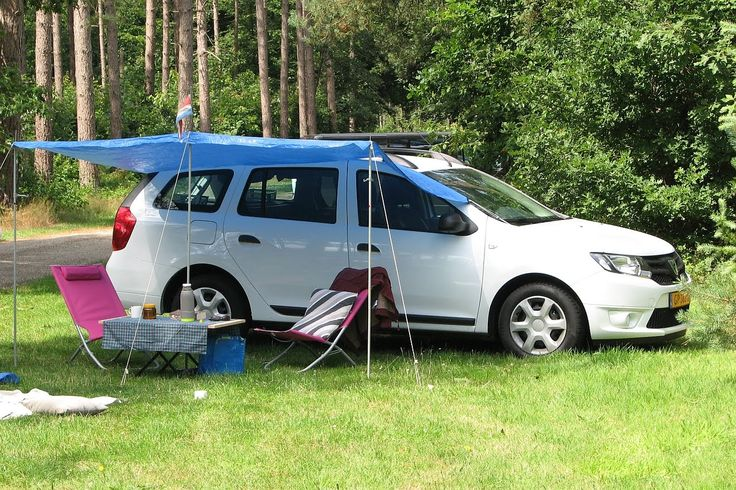 Dacia Logan MCV II (2015) ombouw tot Mini Camper (versie 1)