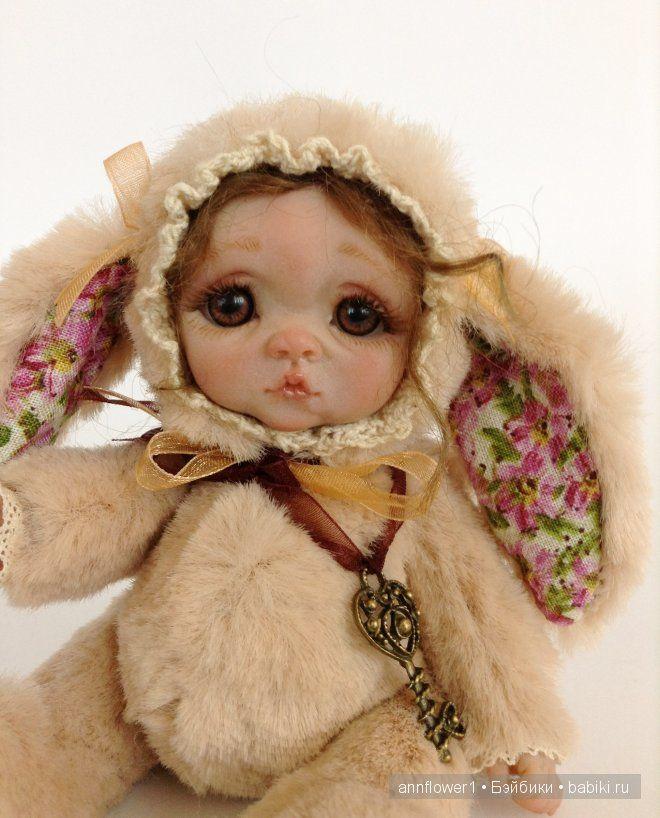 Тедди долл Лизонька. Авторская кукла Анны Добряковой / Изготовление авторских кукол своими руками, ООАК / Бэйбики. Куклы фото. Одежда для кукол