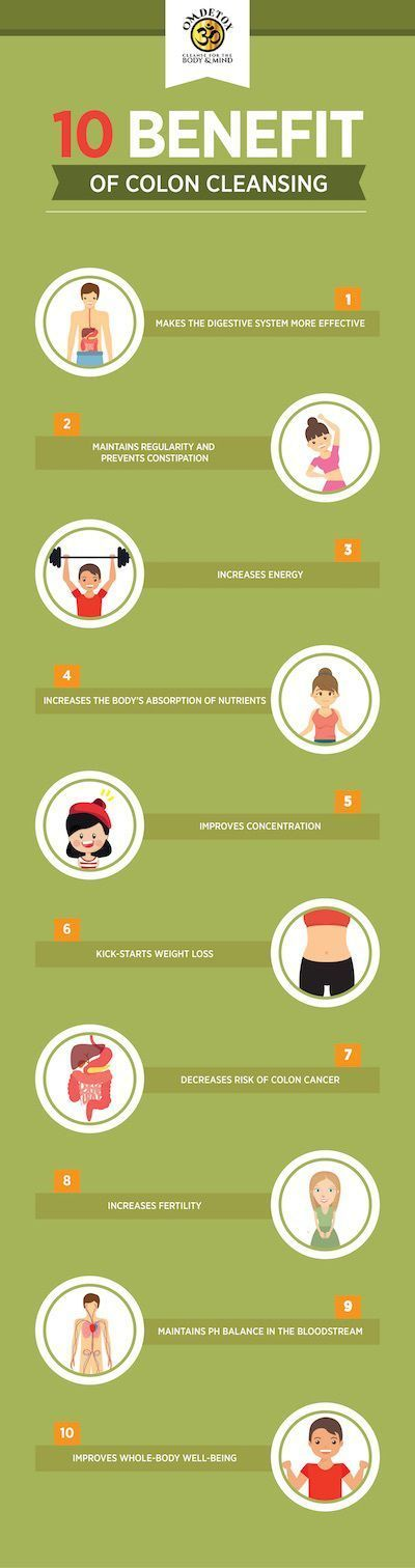 10 benefits of colon cleansing