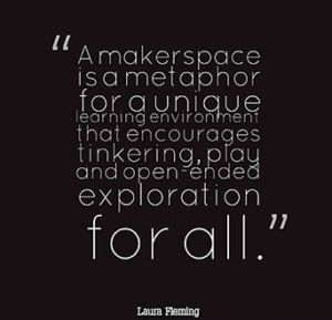 Themed Making - focus your makerspace around broader themes rather than on specific kits and items.