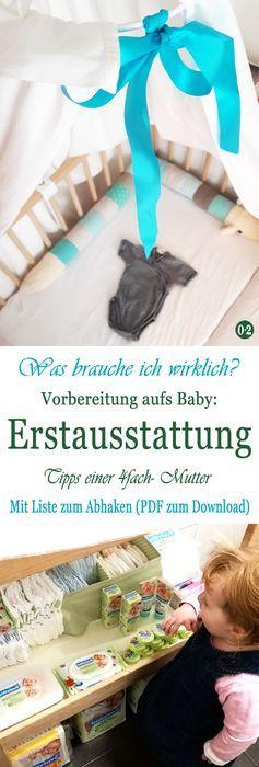 Nice Entspannt aufs Baby vorbereiten Meine Bucket List Mit Erstausstattung zum Download u Nullpunktzwo
