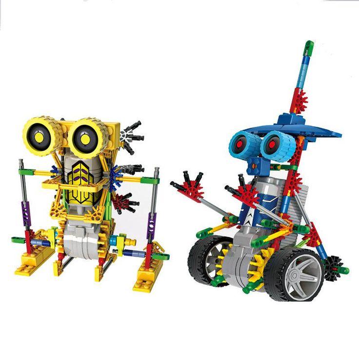 LOZ Robot Assembling DIY Electric Building Blocks Dinosaur Model For Kids Children Educational Toys