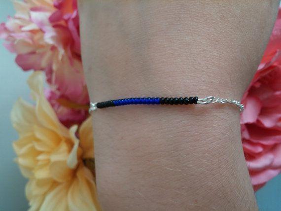 thin-blue-line-bracelet-cops-wife-silver