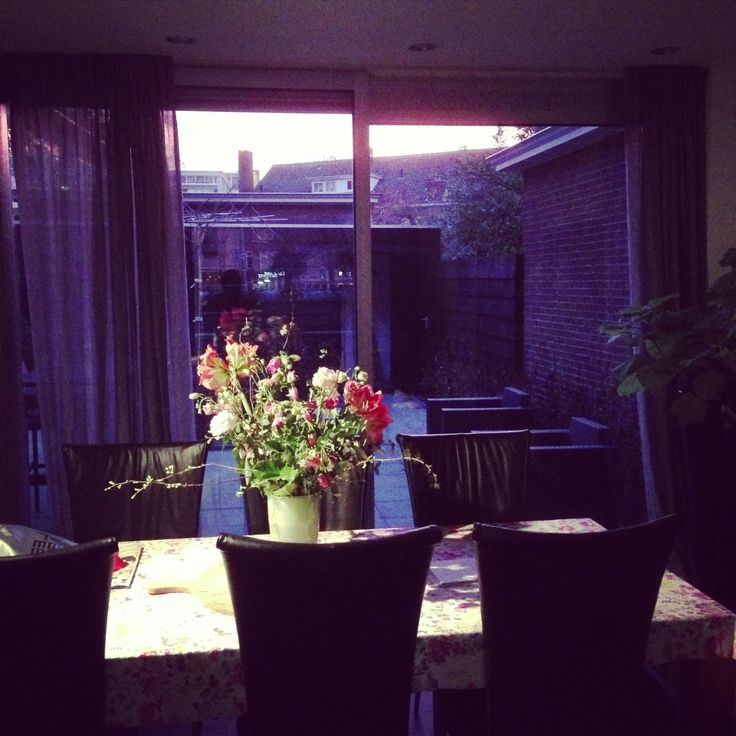 evening at home