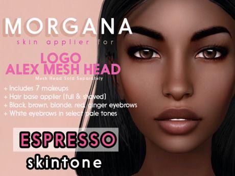 [PF] <Espresso> - Morgana - LOGO ALEX Head Applier