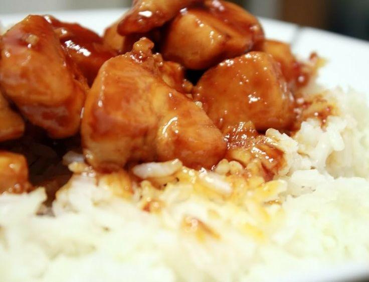 BOURBON CHICKEN | Food Ideas | Pinterest