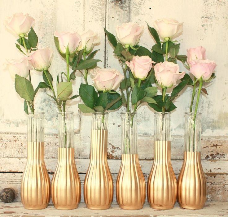 All the gold centerpieces please