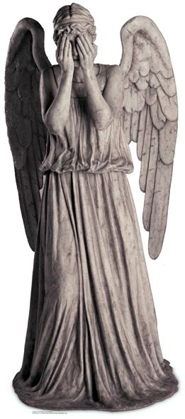Weeping Angel Dr Who 191cm Lifesize Cardboard Cutout