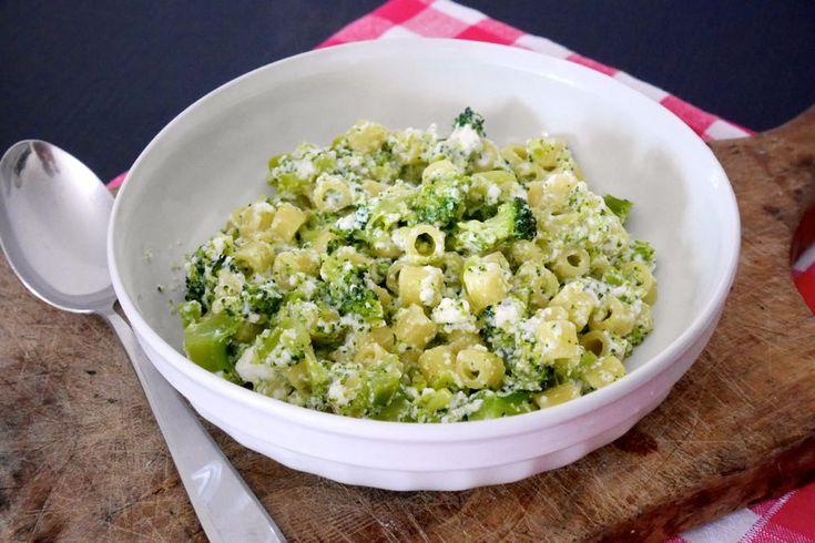 Pasta+broccoli+e+ricotta
