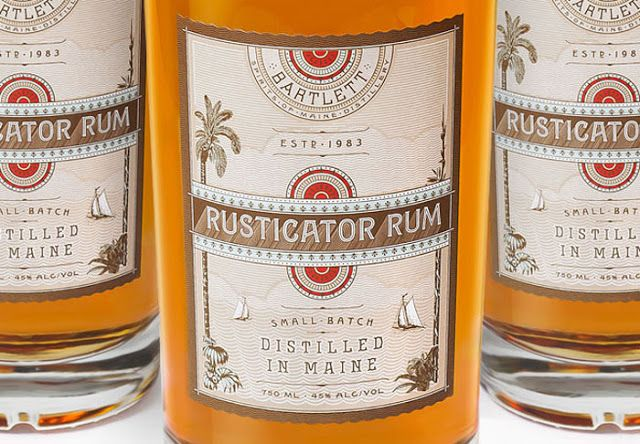 Rusticator Rum on Packaging of the World - Creative Package Design Gallery