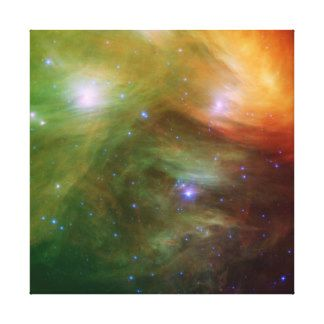 Pleiades in infrared gallery canvases and posters Zazzle
