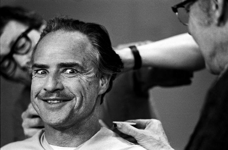© Steve Schapiro, Marlon Brando. Le Parrain, New York, 1971. https://www.facebook.com/pages/Le-Seuil-et-lHorizon/300782323265464