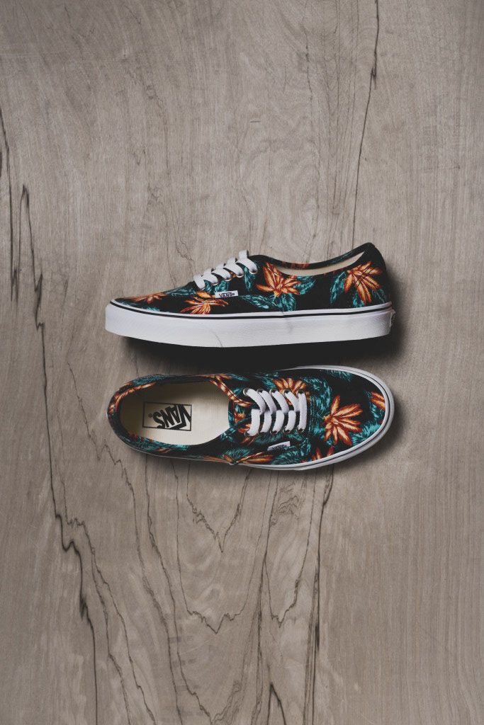 Aloha! #vans #sneakers #tropical