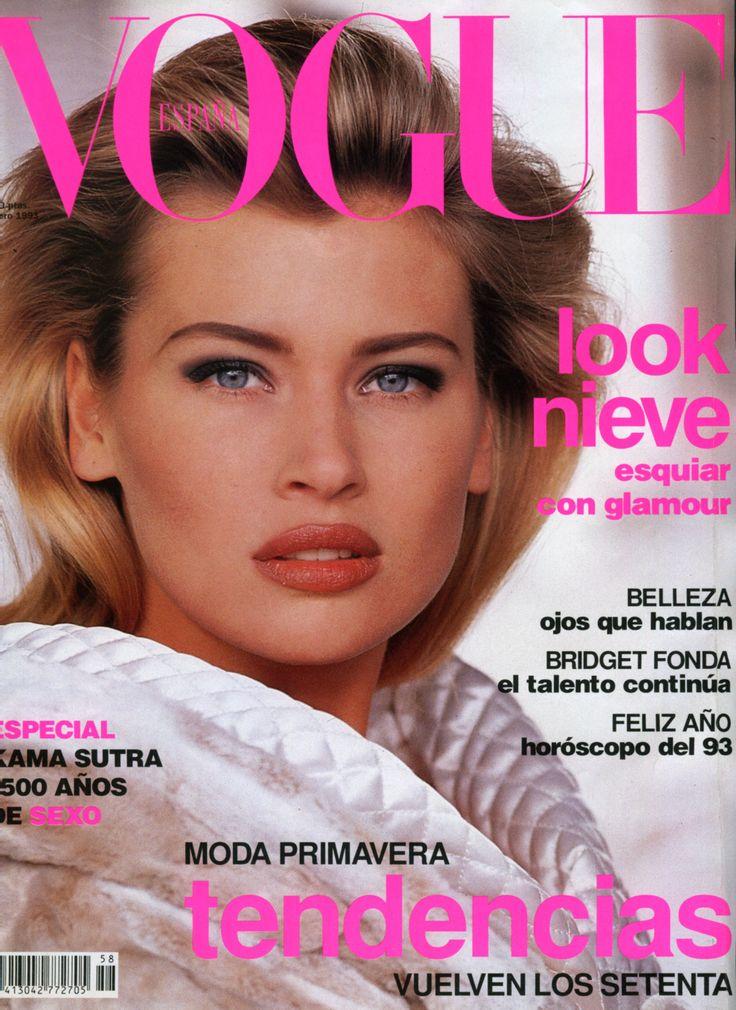 Daniela Pestova, Spanish Vogue January 1993