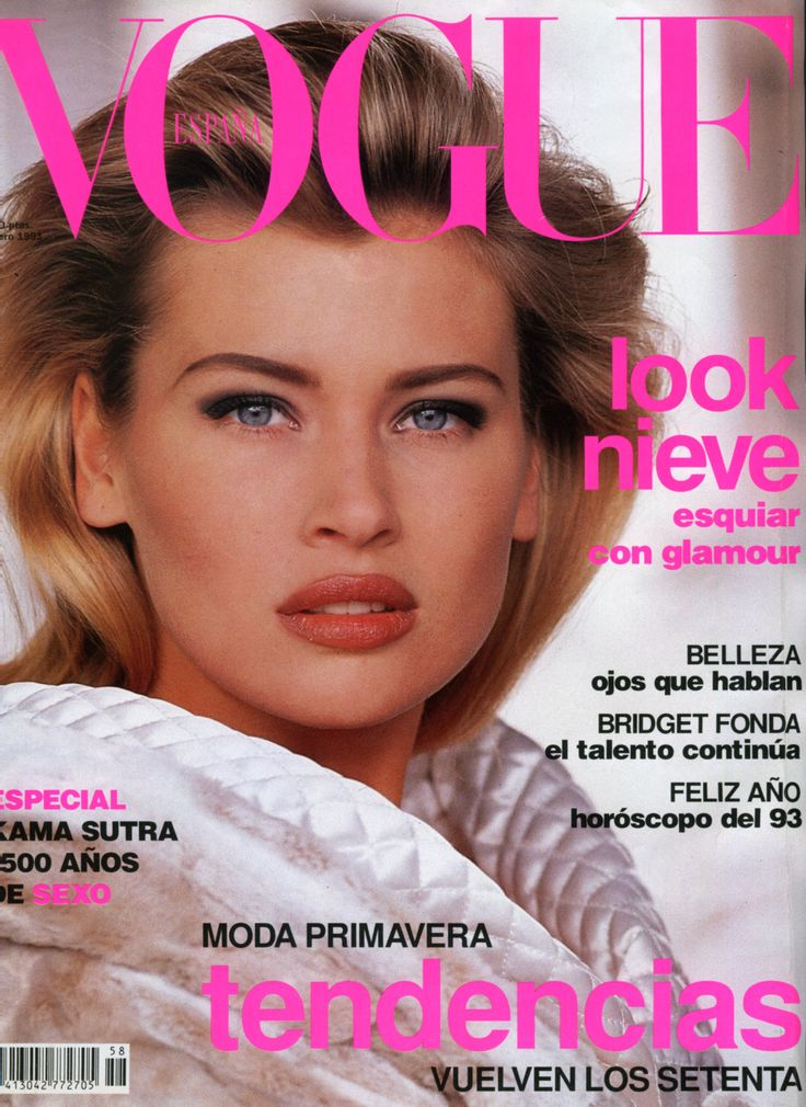 Daniela Pestova, Spanish Vogue January 1993