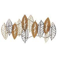 Golden Leaves Metal Wall Art Decor $249.95 Part 75