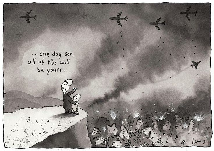 One day son, all of this will be yours... Michael Leunig.