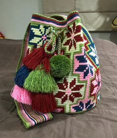 greeeeed!!!!! My first Wayuu so cute ❤️ #wayuu #wayuubag