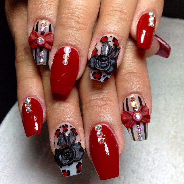 Gel Nail Designs For Valentines