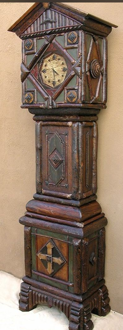Great Kord Schaefle Grandfather Clock With Twig And