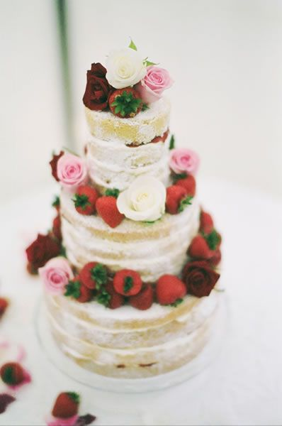 another elegant tiered victoria sponge